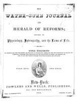 The Water cure Journal PDF