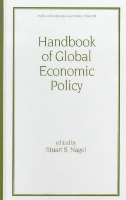 Handbook of Global Economic Policy PDF