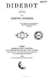 Diderot: étude