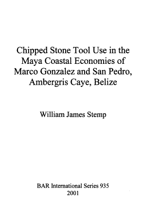 Chipped Stone Tool Use in the Maya Coastal Economies of Marco Gonzalez and San Pedro, Ambergris Caye, Belize
