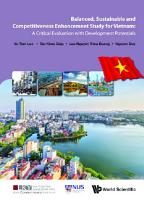 Balanced  Sustainable And Competitiveness Enhancement Study For Vietnam  A Critical Evaluation With Development Potentials PDF