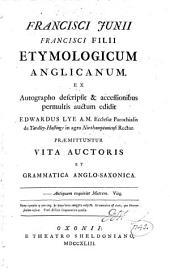 Etymologicum Anglicanum