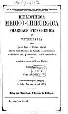 Bibliotheca medico chirurgica  pharmaceutico chemica et veterinaria0 PDF