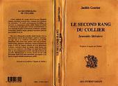 LE SECOND RANG DU COLLIER: Souvenirs littéraires