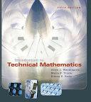 Introduction to Technical Mathematics PDF