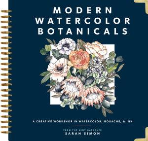 Modern Watercolor Botanicals