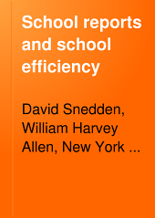 School Reports and School Efficiency