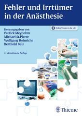Fehler und Irrtümer in der Anästhesie: Ausgabe 2