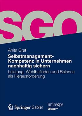 Selbstmanagement Kompetenz in Unternehmen nachhaltig sichern PDF