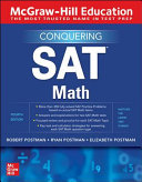 McGraw Hill Education Conquering SAT Math  Fourth Edition