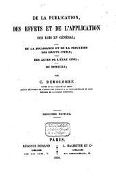 Traité de la publication ...