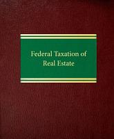 Federal Taxation of Real Estate PDF
