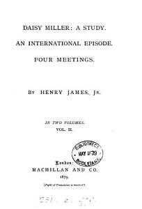 Daisy Miller  a study PDF