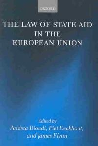 The Law of State Aid in the European Union PDF