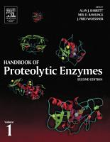 Handbook of Proteolytic Enzymes  Volume 1 PDF