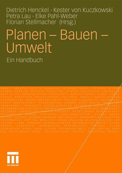 Planen   Bauen   Umwelt PDF