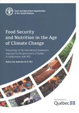 Food security and nutrition in the age of climate change PDF