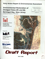 Environmental Restoration of Dredged Holes #5 and #6, Barnegat Bay, New Jersey