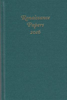 Renaissance Papers 2016 PDF