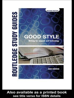 Good Style PDF