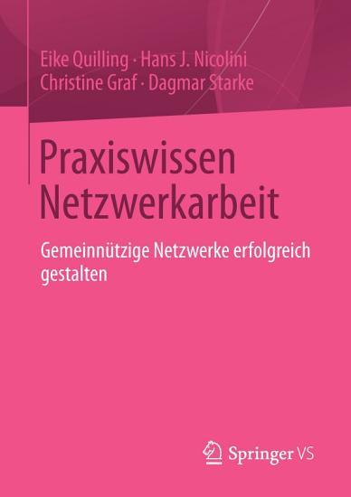 Praxiswissen Netzwerkarbeit PDF