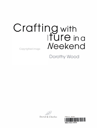 Crafting with Nature in a Weekend PDF