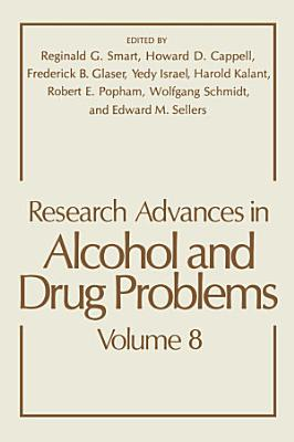 Research Advances in Alcohol and Drug Problems PDF