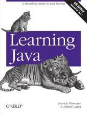 Learning Java: Edition 4