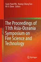 The Proceedings of 11th Asia Oceania Symposium on Fire Science and Technology PDF