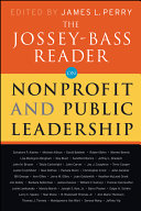 The Jossey Bass Reader on Nonprofit and Public Leadership PDF