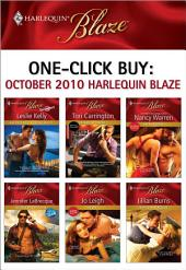 One-Click Buy: October 2010 Harlequin Blaze: Another Wild Wedding Night\Private Sessions\The Ex Factor\Northern Exposure\Shiver\Seduce and Rescue