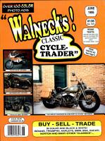 WALNECK S CLASSIC CYCLE TRADER  JUNE 1995 PDF