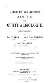 Albrecht von Graefes Archiv für klinische und experimentelle Ophthalmologie: Band 28