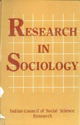 Research In Sociology Book PDF