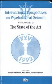 International Perspectives On Psychological Science  The State Of The Art   State Of The Art Lectures