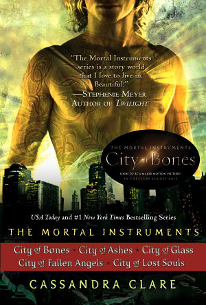 Cassandra Clare  The Mortal Instruments Series  5 books