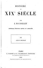 Histoire du XIXe siècle: Volume3