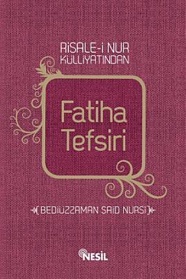 Fatiha Tefsiri PDF