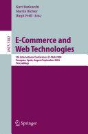 E-Commerce and Web Technologies