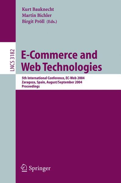 E Commerce and Web Technologies PDF