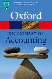 A Dictionary of Accounting: Edition 5