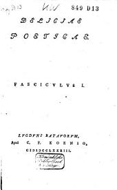 Deliciae poeticae: Volume 1