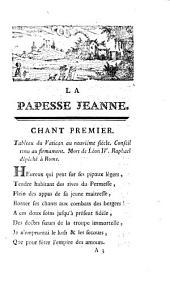 La papesse Jeanne, poëme en dix chants