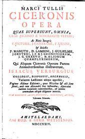 Opera, quae supersunt, omnia: cum Asconio & scholiaste veteri, Volume 1