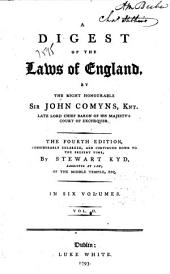 A Digest of the Laws of England: Volume 2