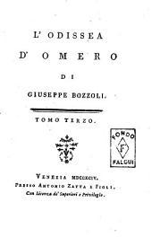 L'Odissea d'Omero di Giuseppe Bossoli. Tomo primo [-terzo]: Volume 3
