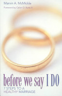 Before We Say I Do