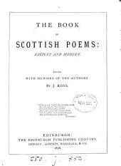 The Book of Scottish Poems: Ancient and Modern