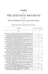 House Documents: Volume 144; Volume 148