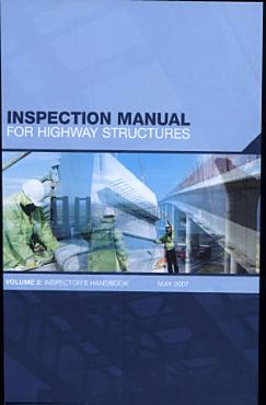 Inspection manual for highway structures PDF